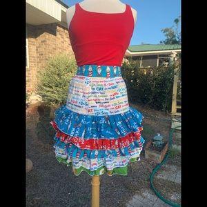 Dresses & Skirts - Dr Seuss skirt. Hand made.